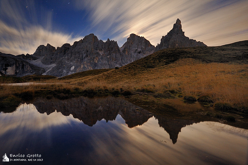 Photograph The Moonlight | Dolomites by Enrico Grotto on 500px