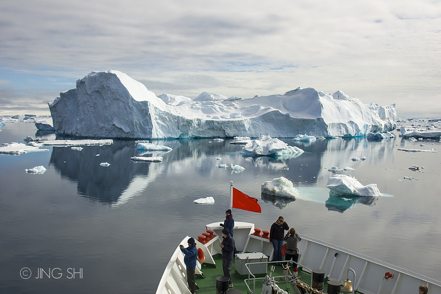 Iceberg Ahead by Jing Shi on 500px.com