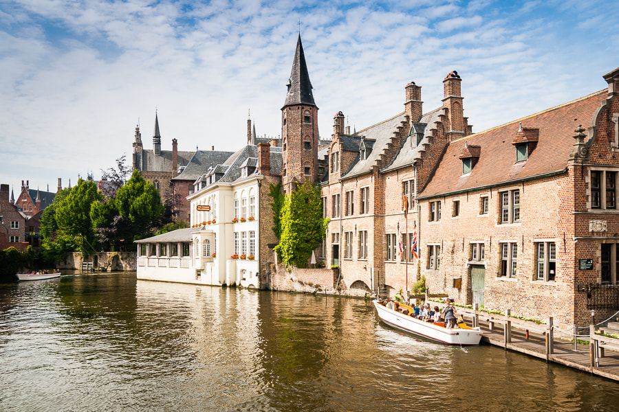 Photograph Brugge canal by Jose Agudo on 500px