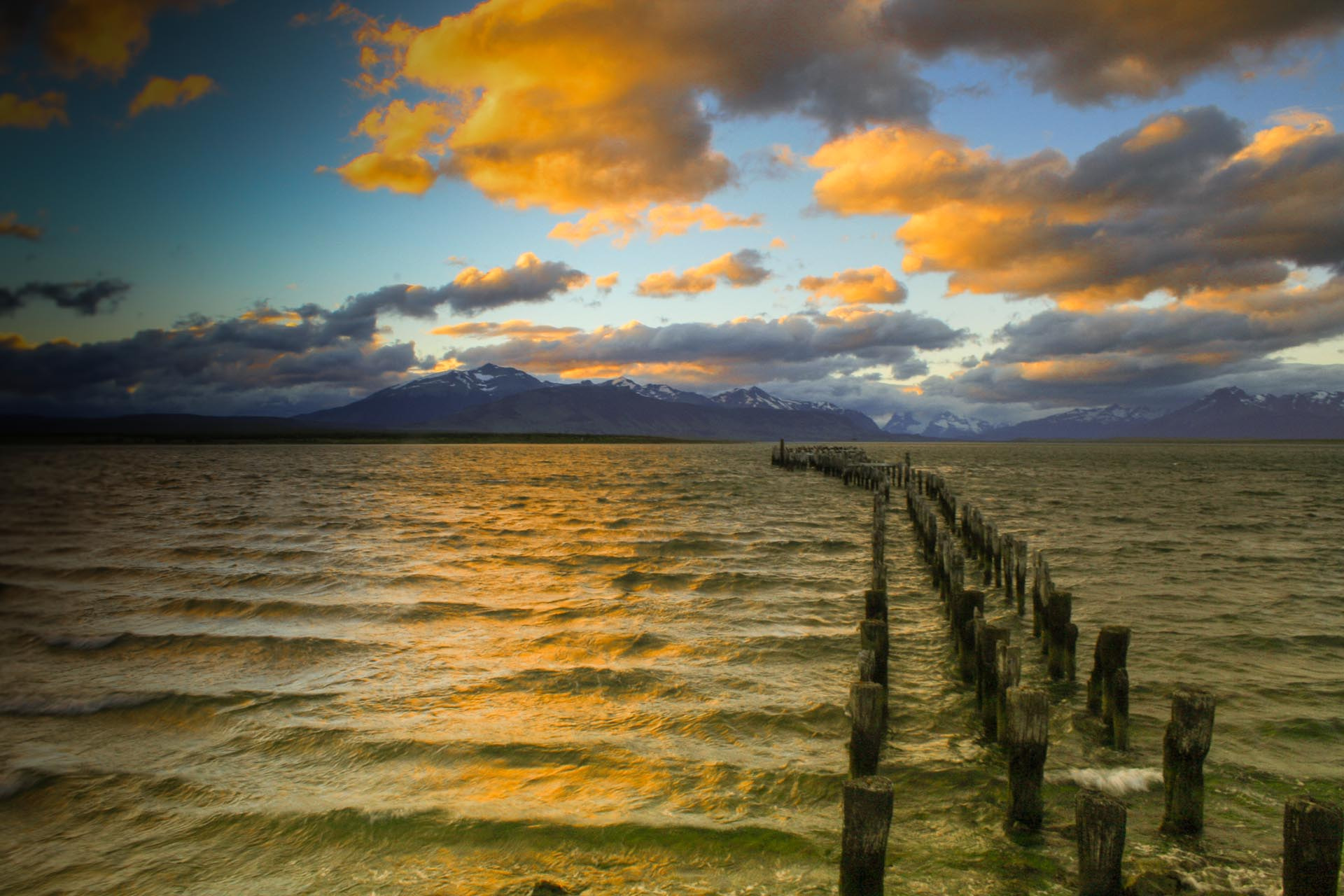 Photograph Sunset at Puerto Natales by Amit Shah on 500px