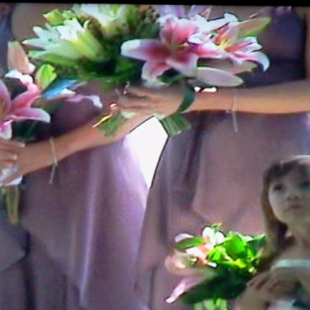 Popmixer. Flower girl surrounded, Samsung Galaxy Tab