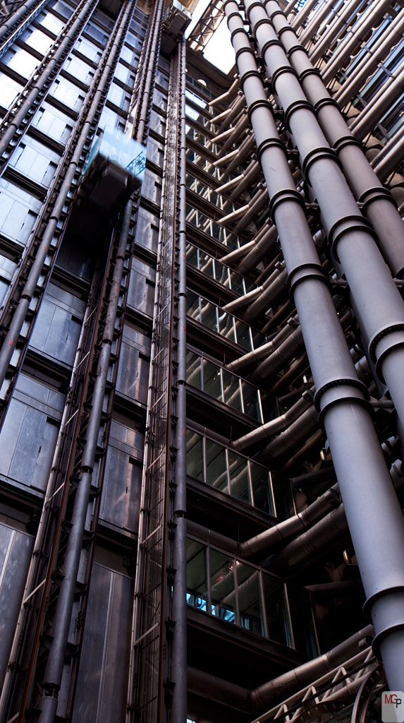 Photograph Escalating Lloyds by Marc G on 500px