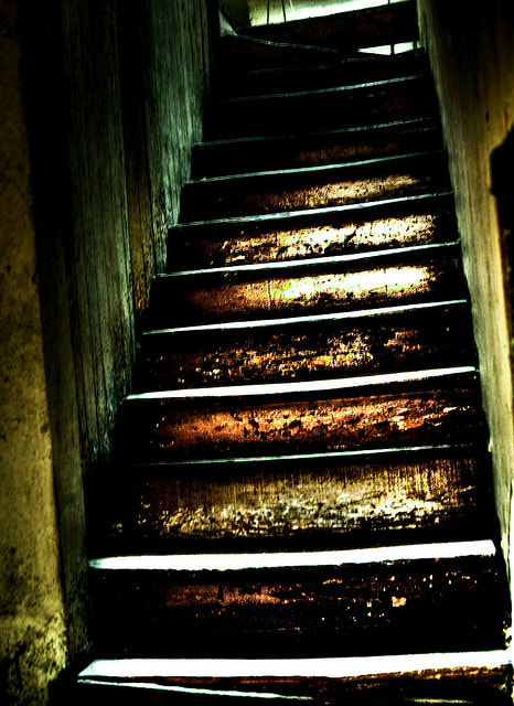 Photograph Stairs of Terror by Alviseni López on 500px