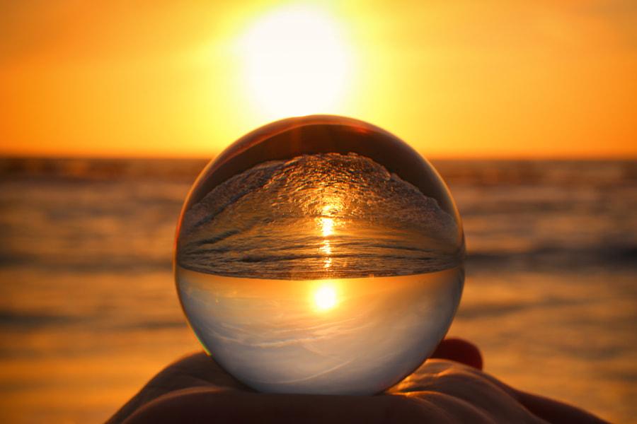 Sunset through the Crystal Ball