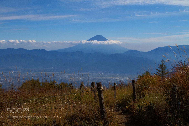 Photograph Mt. Fuji_紅葉 by SANDEEP DHUNGANA on 500px