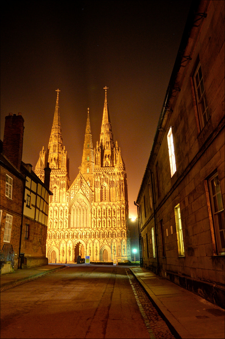 Photograph Lichfield Cathedral by Bill Brown on 500px