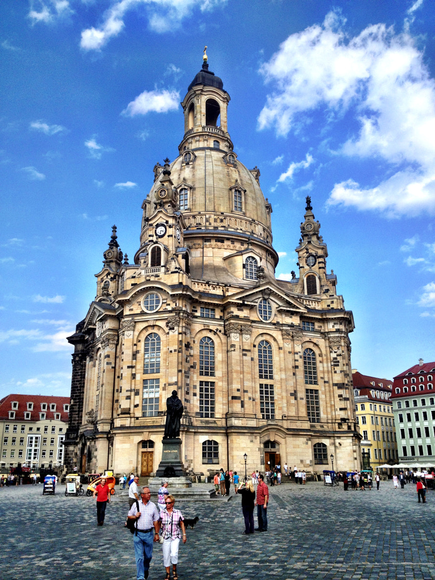 Photograph frauenkirche in dresden by DHα Photography on 500px