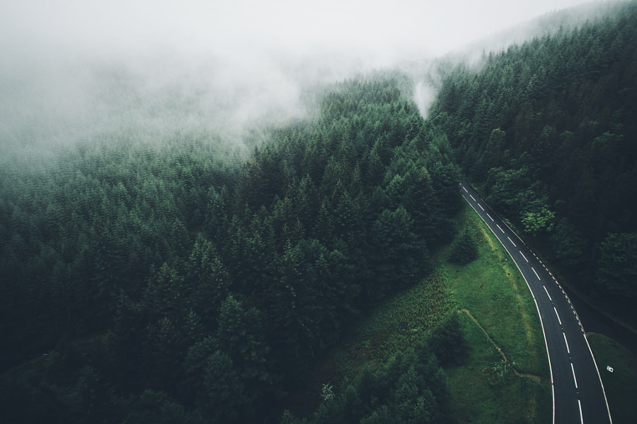 Over The Pass by Daniel Casson on 500px.com