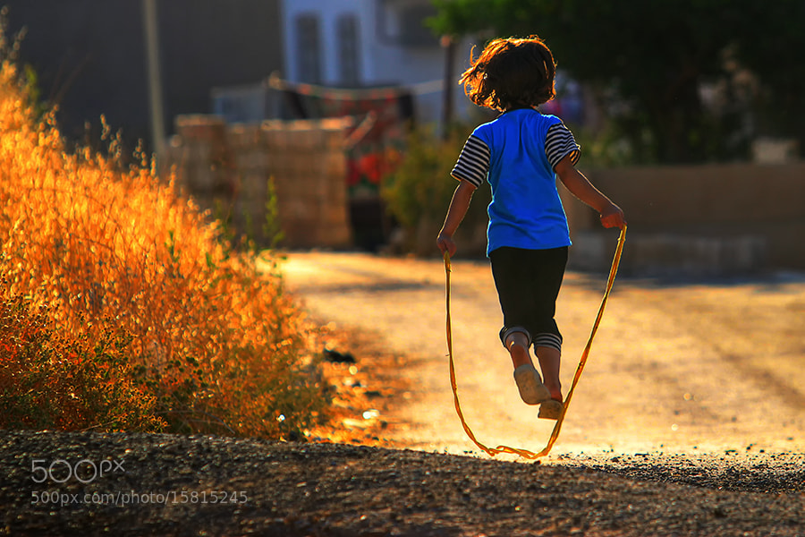 Photograph Child play rope  by Hussain Ali on 500px