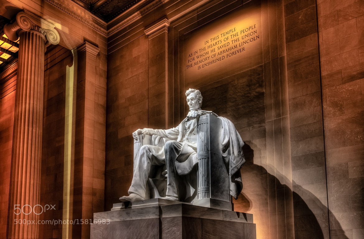 Photograph Lincoln Memorial by Dave Wright on 500px