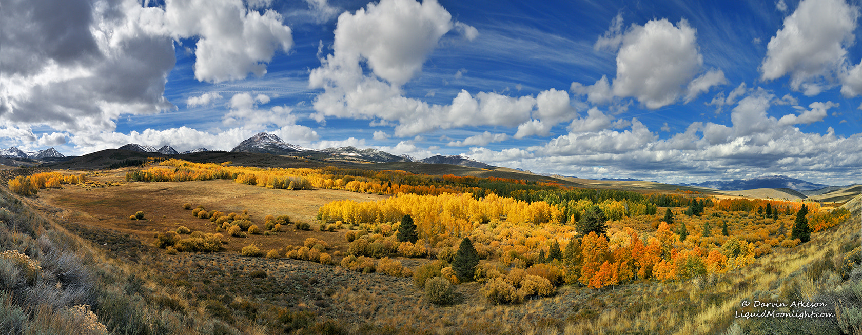 Photograph Eastern Sierra Autumn Color - Conway Sumit Panorama by Darvin Atkeson on 500px