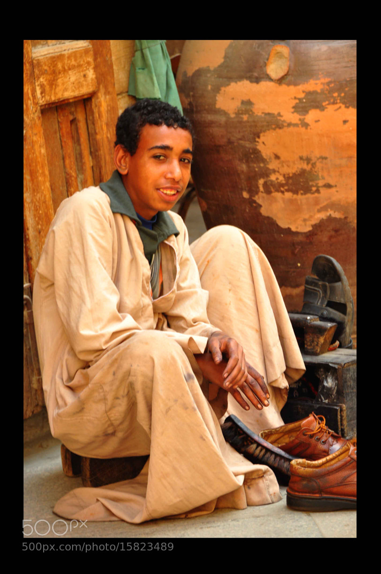 Photograph Shoes Cleaner Boy... by Ahmad Ghonaim on 500px