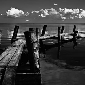 Old jetty by Mikael Sundberg (Msundberg)) on 500px.com