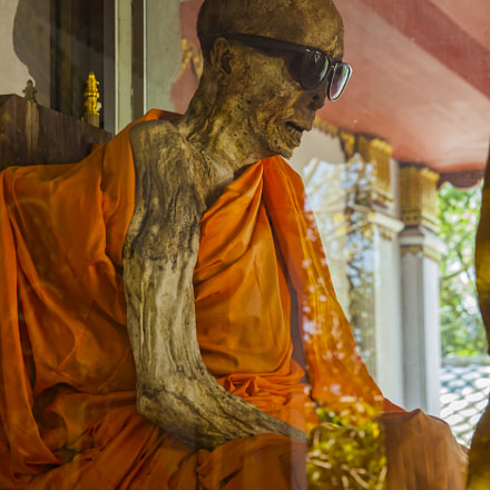 Mummified Monk in Wat Khunaram