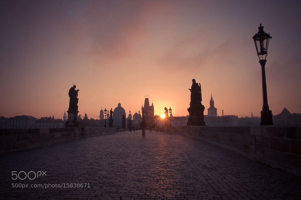Photograph Charles Bridge Prague by Karel Hajek on 500px