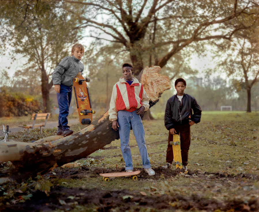 three boys 1987 by CHRIS DORLEY-BROWN on 500px.com