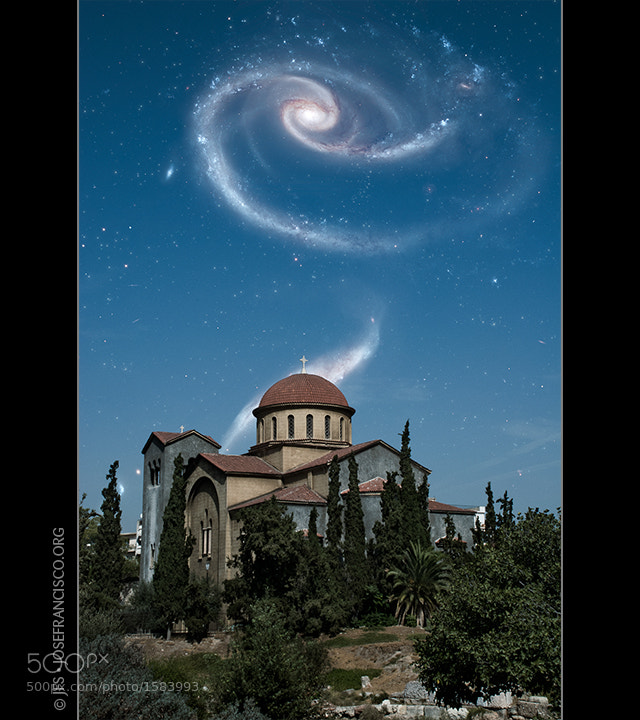 Photograph Interacting Galaxies over Kerameikos by José Francisco Salgado on 500px
