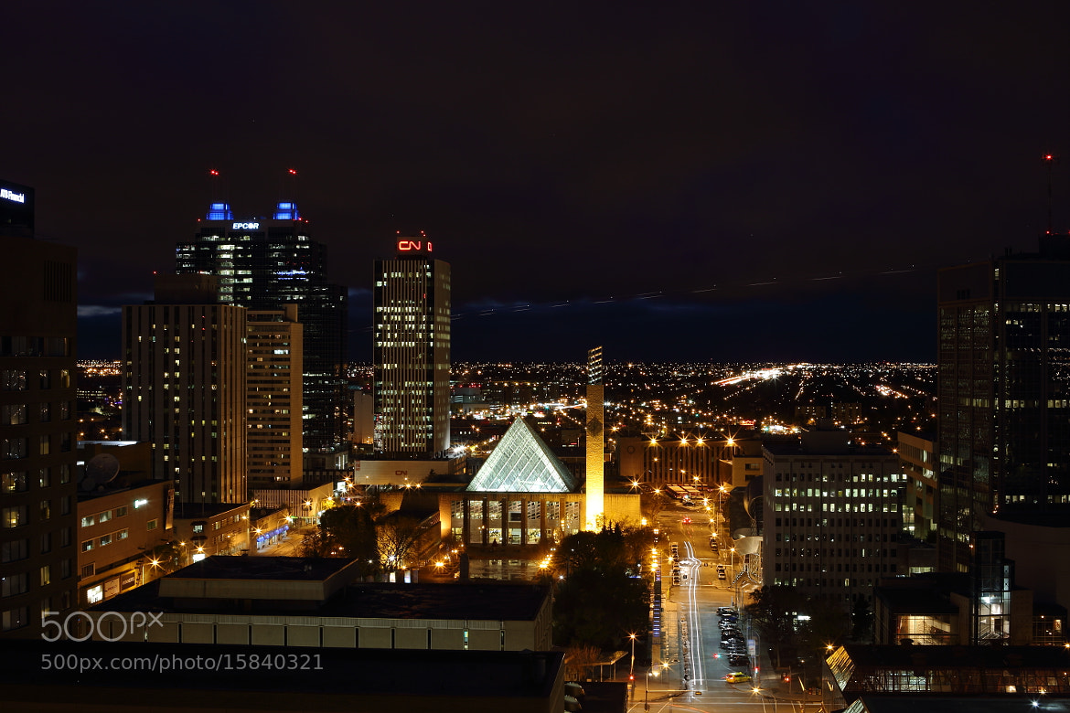 Photograph The Edmonton city by Minchang Zhang on 500px