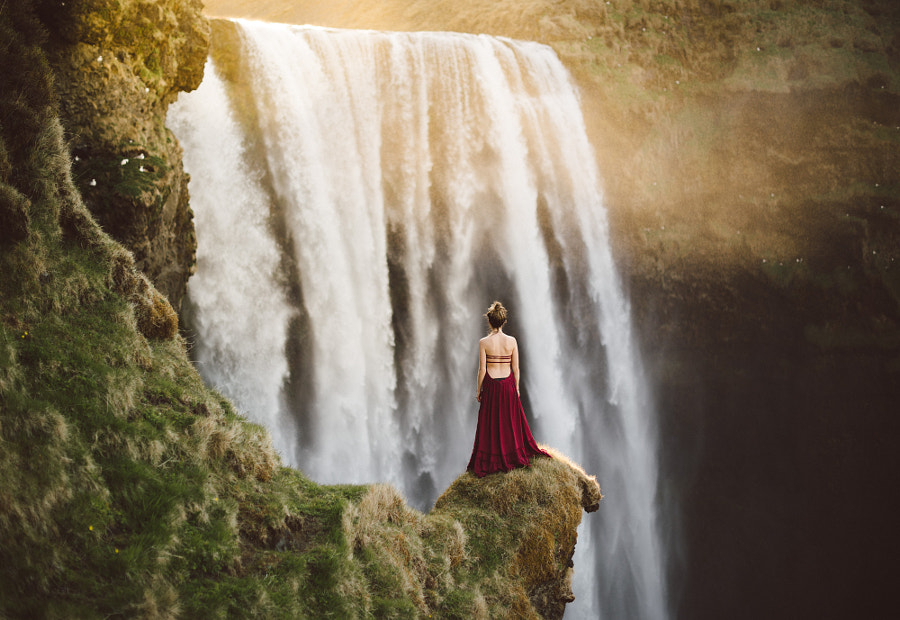 Lady of the Falls de Isaac Gautschi sur 500px.com