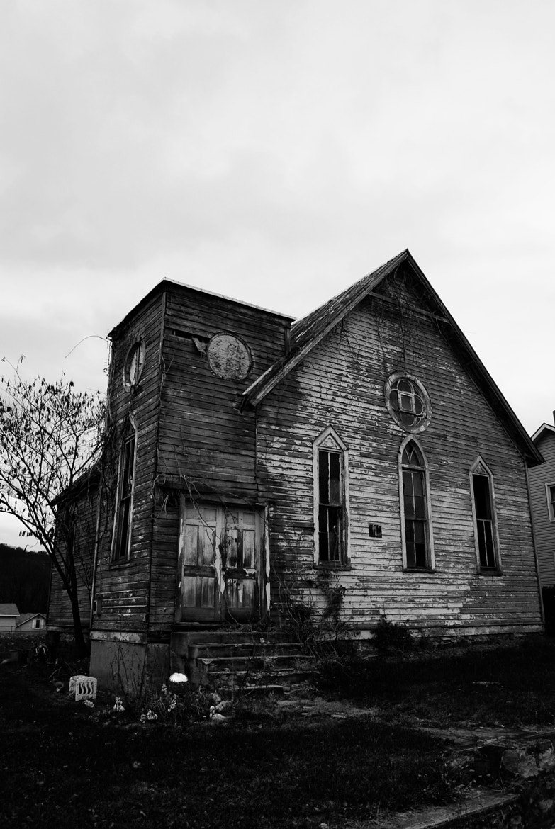 Photograph Abandoned Church in Western Maryland by Brendan Lilly on 500px