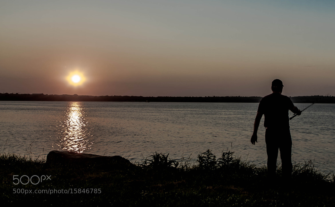 Photograph a fisherman enjoys a late evening cast by Daniel  Taylor on 500px