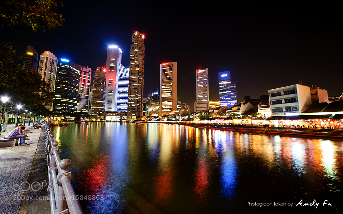 Photograph Wonders of the night city by Andy Fu on 500px