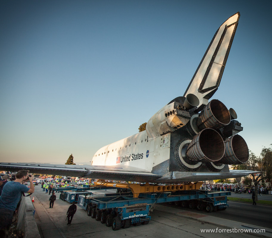 Photograph The Space Shuttle Endeavor by Forrest Brown on 500px