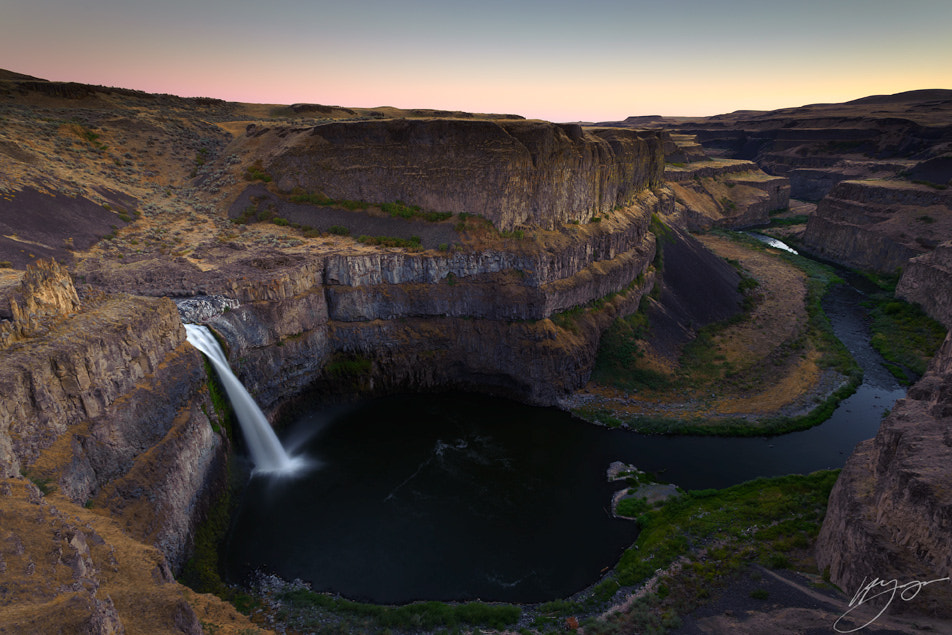 Photograph Summer sunset at Palouse Falls by Hillary Younger on 500px
