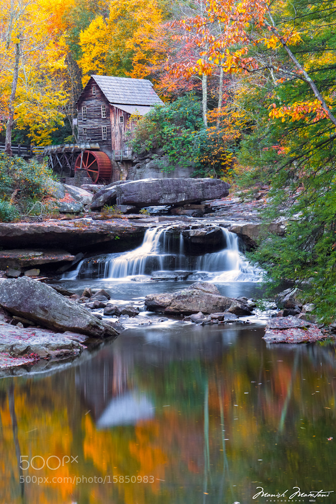 Photograph The Glade Creek Grist Mill by Manish Mamtani on 500px