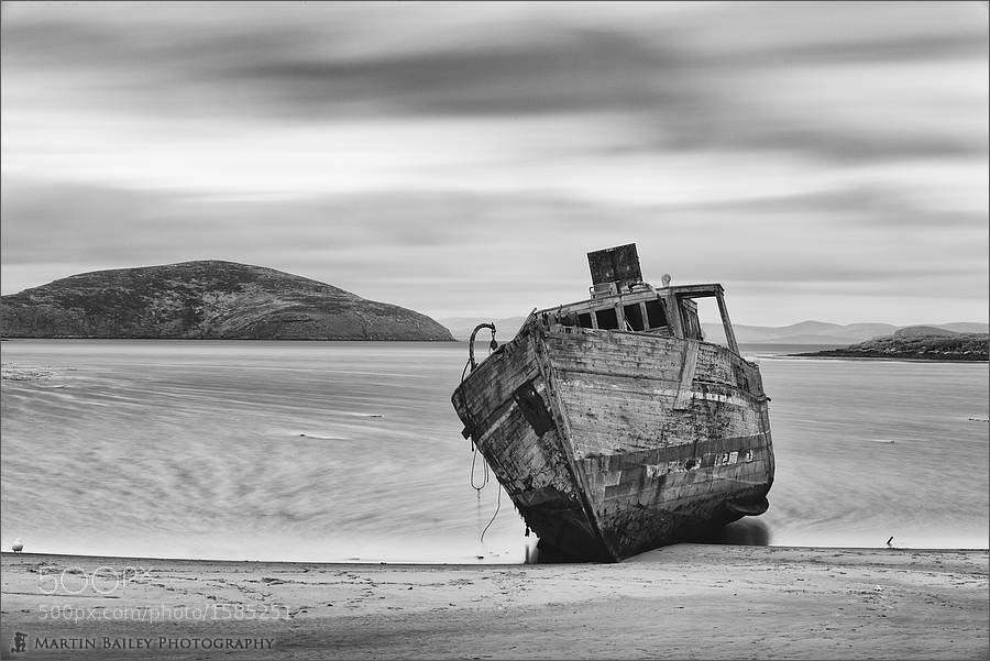 Photograph Wrecked Minesweeper by Martin Bailey on 500px