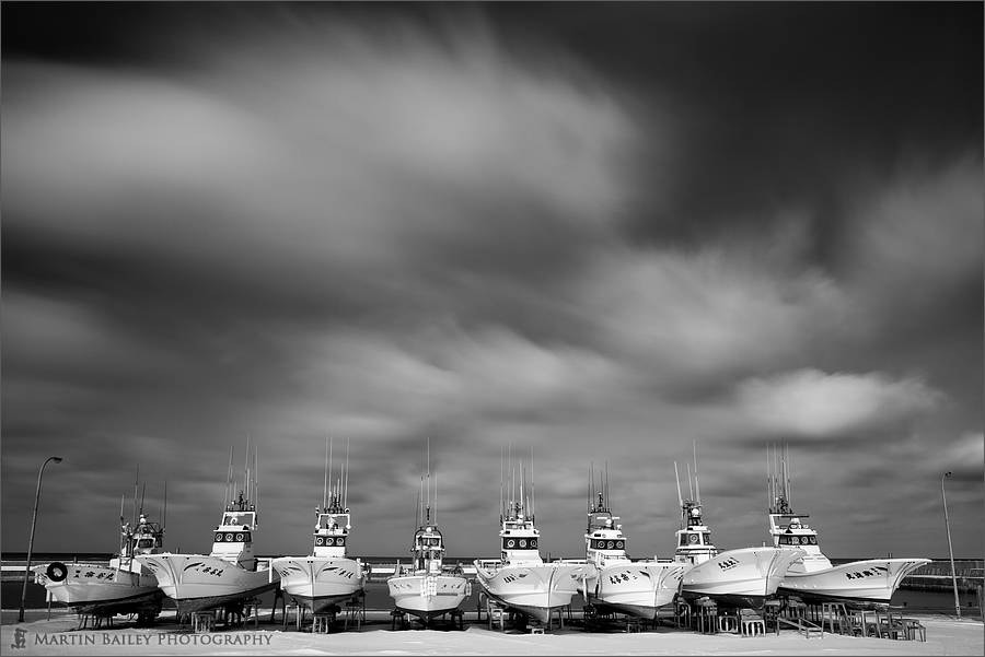 Photograph Souya Harbor Fishing Boats by Martin Bailey on 500px
