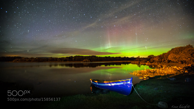 Photograph The Lough Mask Aurora  by conor ledwith on 500px