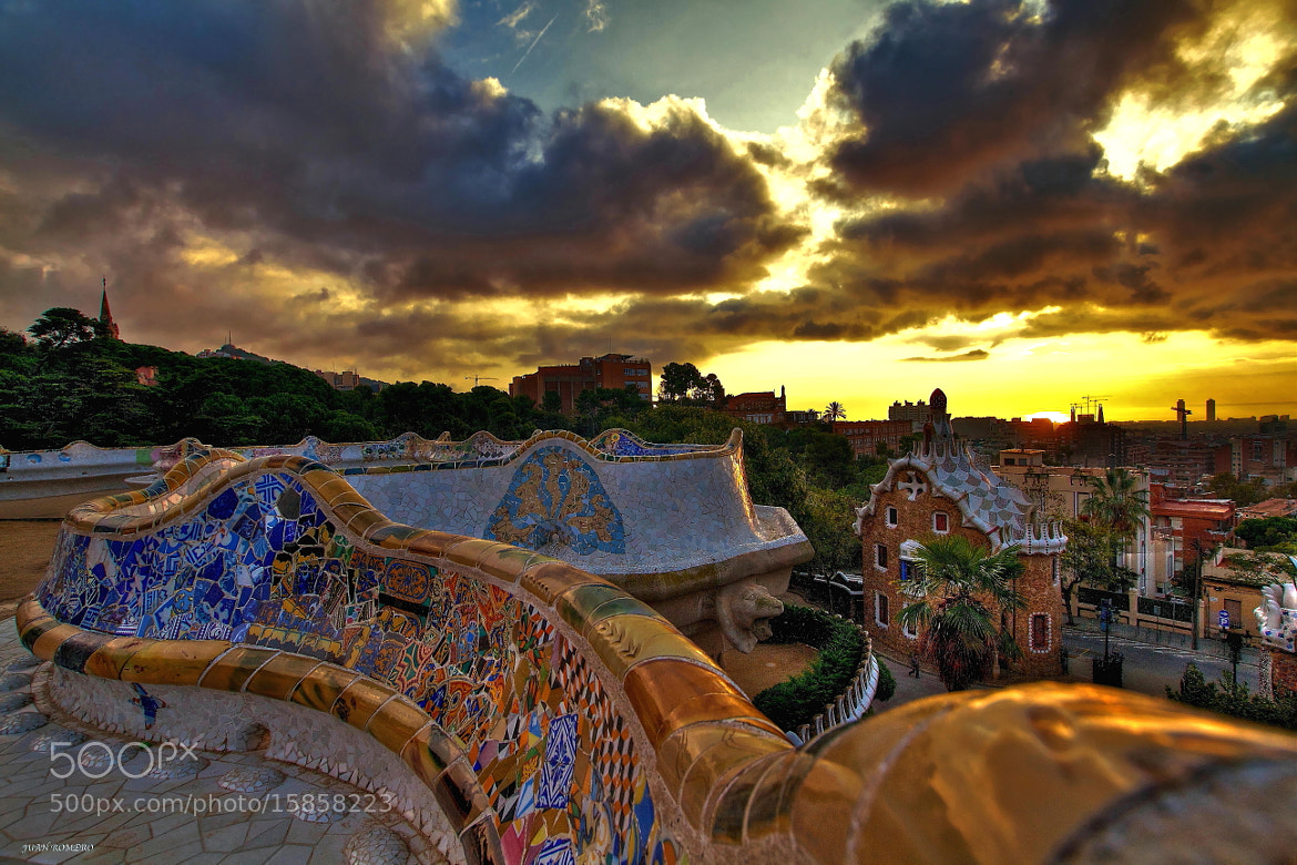 Photograph Park Güell by JUAN  ROMERO on 500px