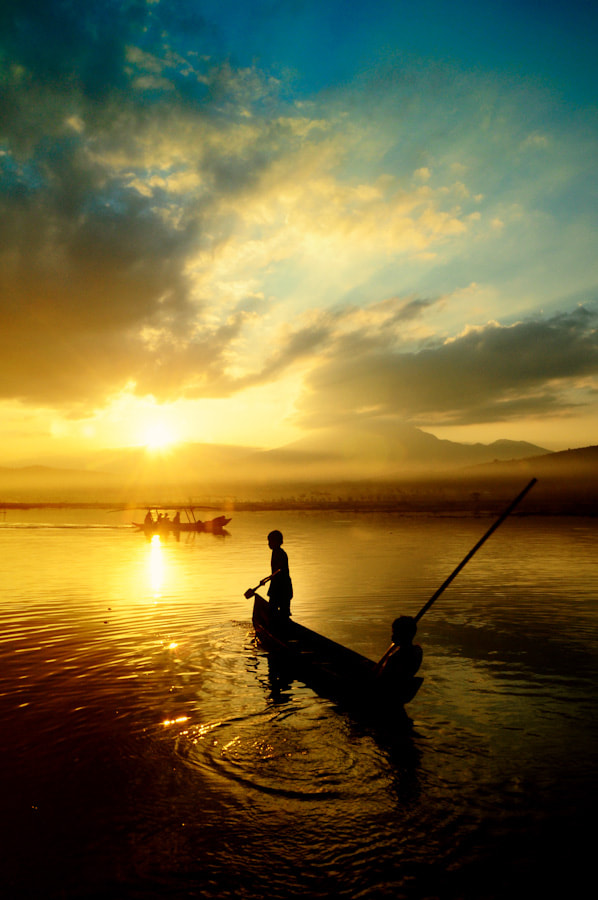 Photograph Sailing To The Sunset by Jodhie Panggalih on 500px
