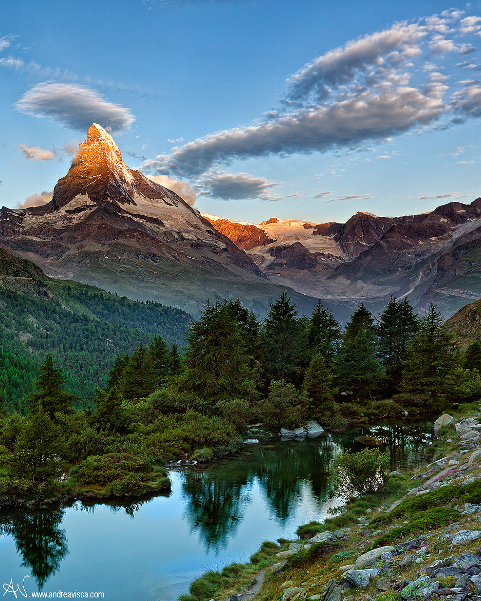 Photograph Sunrise on the Matterhorn by Andrea Visca on 500px