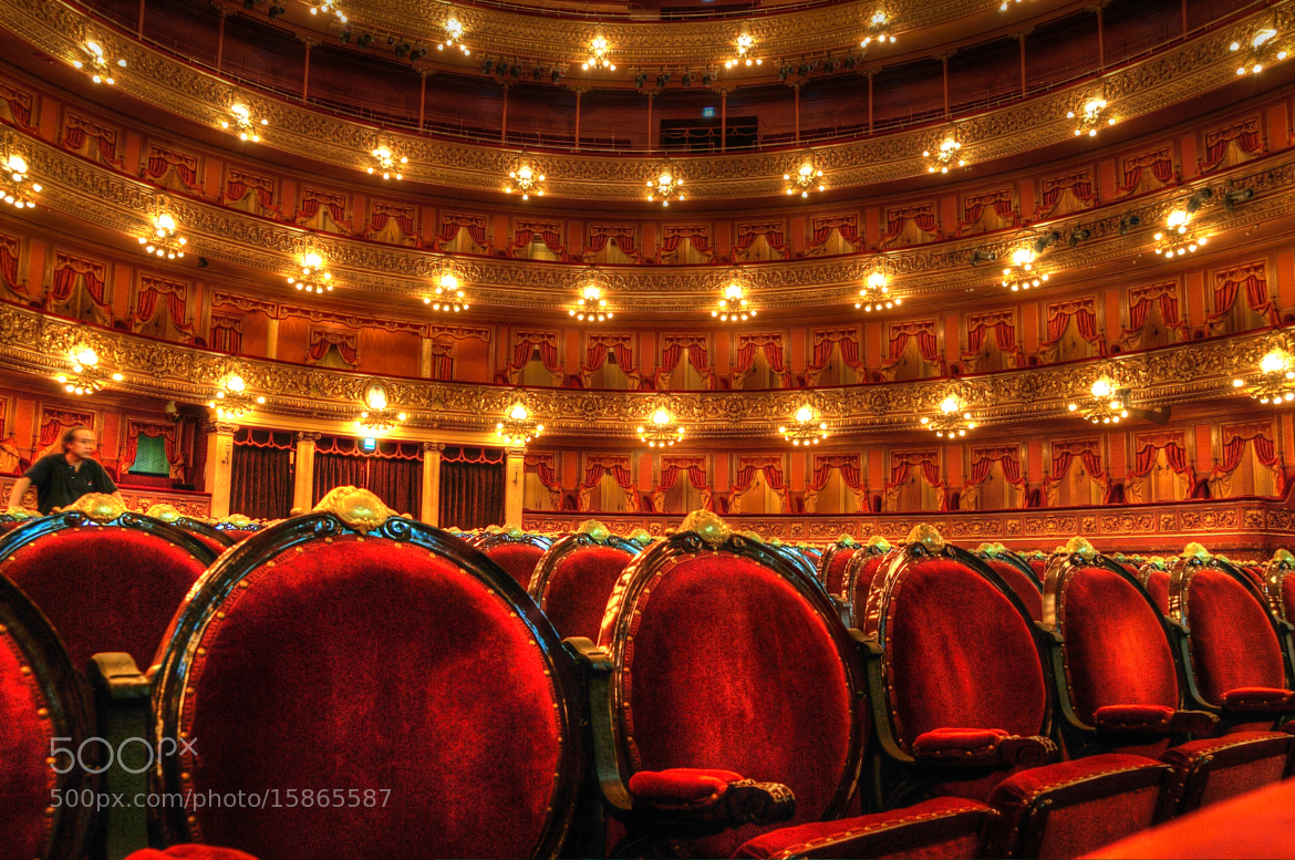 Photograph Teatro Colon Buenos Aires - Auditorium by Bill Brown on 500px
