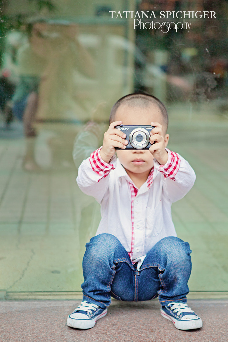 Photograph Cute little photographer II by Tatiana Spichiger on 500px