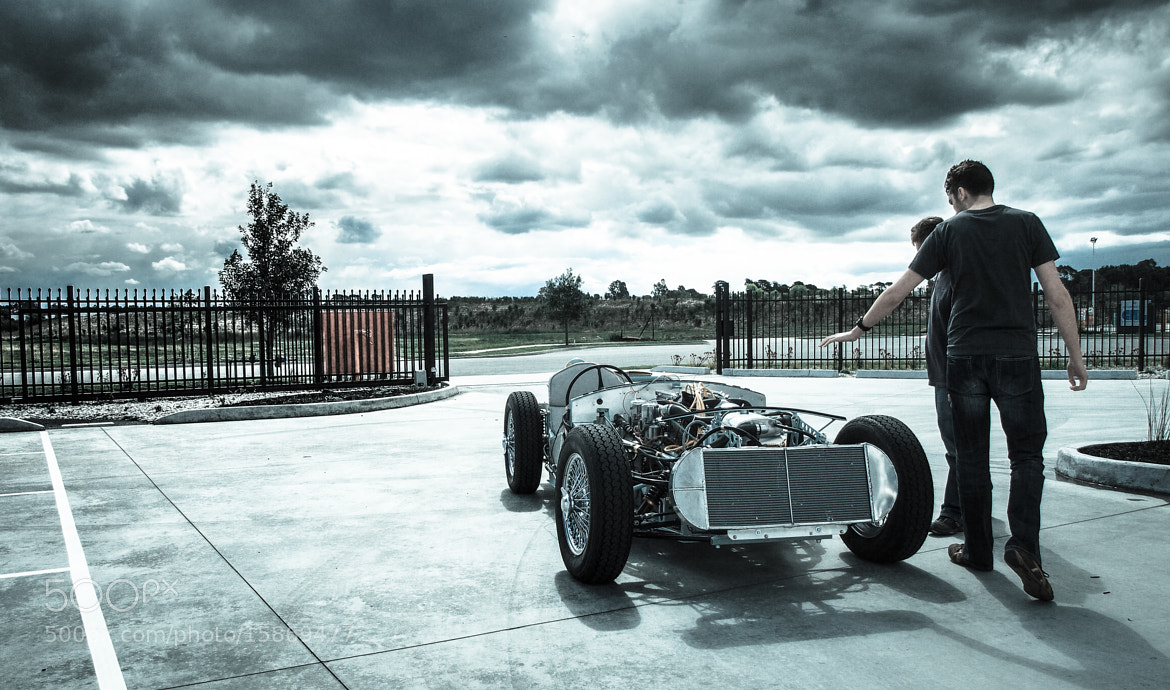 Photograph Aston Martin DBR2 Testing by Ashley Davies on 500px