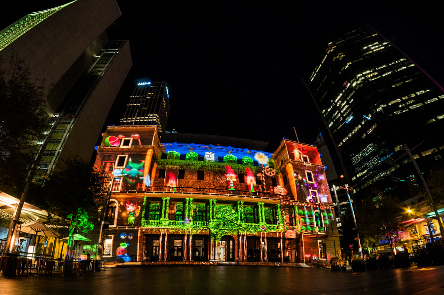 Vivid Sydney 2016 Custom House by Travis Chau on 500px.com