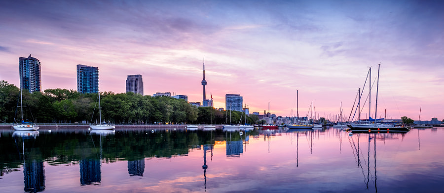 Sunrise over National Yacht Club - Toronto by Vlad K. on 500px.com