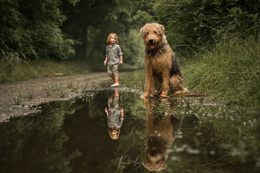 The Giant and the Boy by Adrian C. Murray on 500px.com