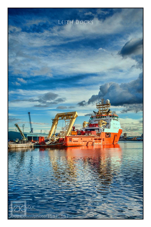 Photograph Leith Docks by Zain Kapasi on 500px