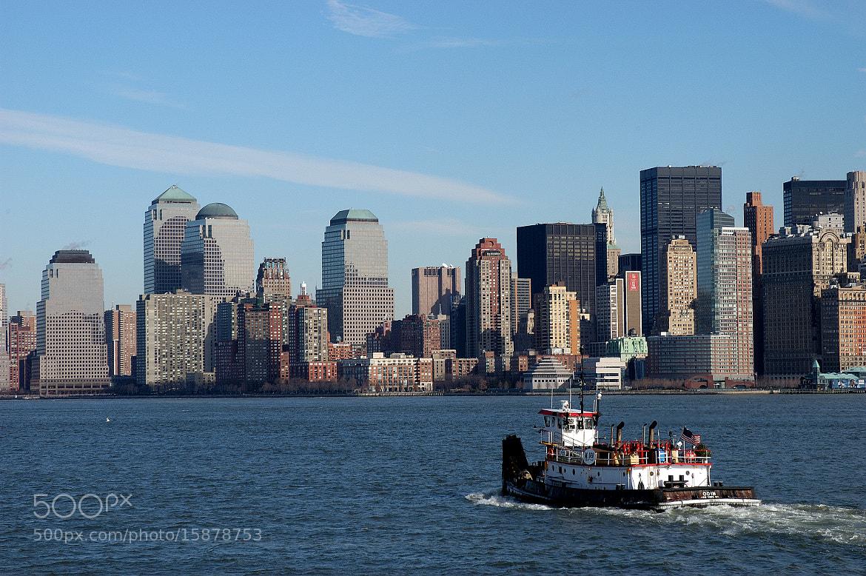 Photograph Manhattan skyline by Tommy Lundmark on 500px