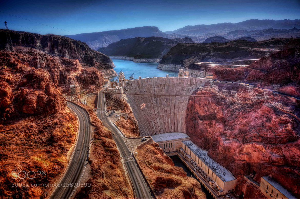 Photograph Hoover Dam by Ashley Poyyayil on 500px