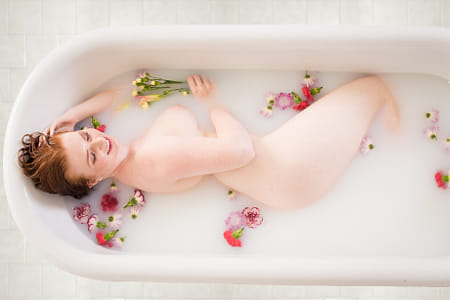 Milk Bath by Klassy Goldberg on 500px
