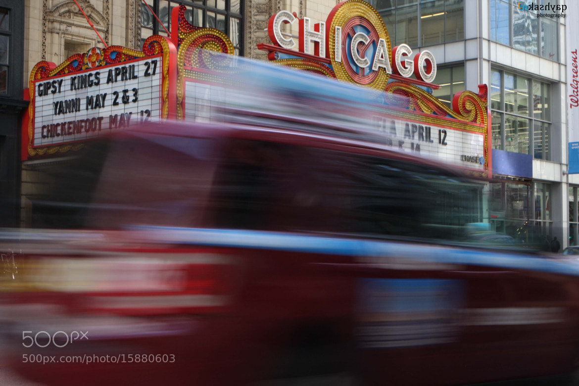 Photograph The Chicago Theatre by Mayank Kashyap on 500px