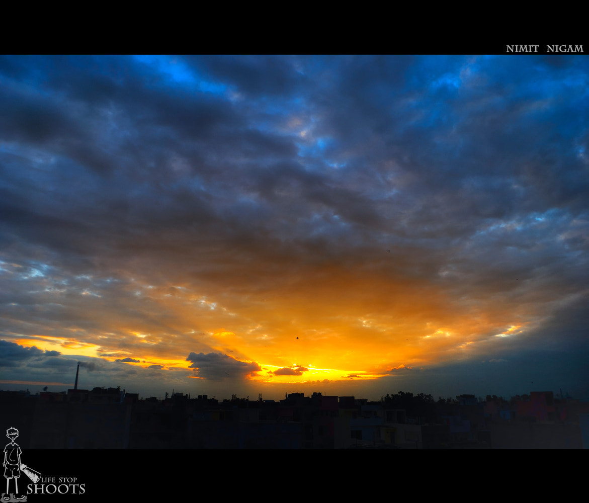 Photograph Sunset... by Nimit Nigam on 500px
