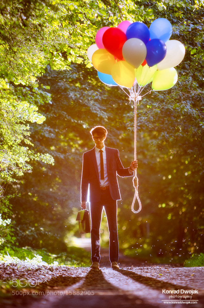 Photograph The Balloon Mystery project by Konrad Dwojak on 500px