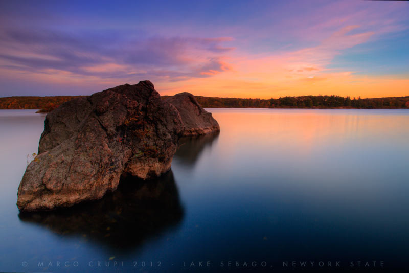 Photograph Lake view at sunset by Marco Crupi on 500px