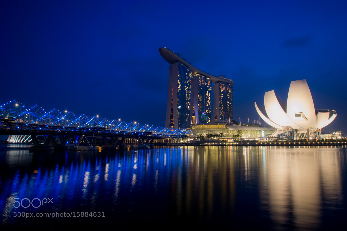 Photograph Marina Bay, Singapore by Antonio Obispo on 500px